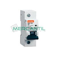 Interruptor Magnetotermico 1P 63A SGB125H Industrial RETELEC