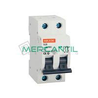 Interruptor Magnetotermico 2P 0.5A SGB6K Industrial-Terciario RETELEC