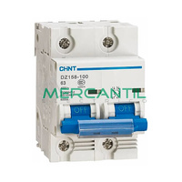 Interruptor Magnetotermico 2P 100A DZ158 Sector Industrial CHINT
