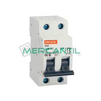 Interruptor Magnetotermico 2P 10A SGB6K Industrial-Terciario RETELEC