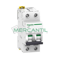Interruptor Magnetotermico 2P 10A iC60N Sector Terciario SCHNEIDER ELECTRIC
