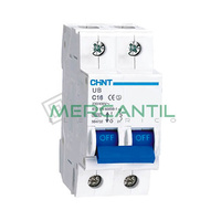 Interruptor Magnetotermico 2P 16A UB Sector Terciario CHINT