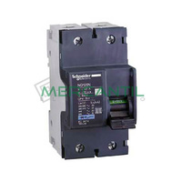 Interruptor Magnetotermico 2P 20A NG125N Sector Industrial SCHNEIDER