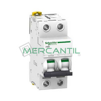 Interruptor Magnetotermico 2P 20A iC60H Sector Industrial SCHNEIDER ELECTRIC