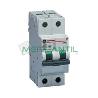 Interruptor Magnetotermico 2P 50A EP60 Sector Residencial-Terciario GENERAL ELECTRIC