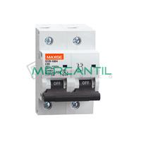 Interruptor Magnetotermico 2P 63A SGB125H Industrial RETELEC