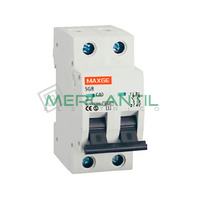 Interruptor Magnetotermico 2P 6A SGBE6K Residencial RETELEC