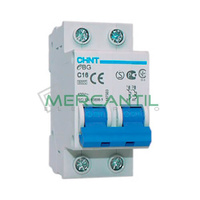 Interruptor Magnetotermico 2P 6A eBG Sector Vivienda CHINT