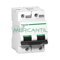 Interruptor Magnetotermico 2P 80A C120N Sector Industrial SCHNEIDER ELECTRIC