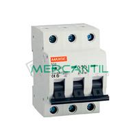 Interruptor Magnetotermico 3P 0.5A SGB6K Industrial-Terciario RETELEC