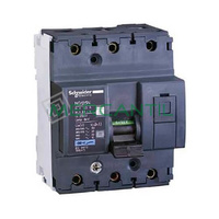 Interruptor Magnetotermico 3P 10A NG125N Sector Industrial SCHNEIDER ELECTRIC