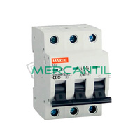 Interruptor Magnetotermico 3P 10A SGB6K Industrial-Terciario RETELEC