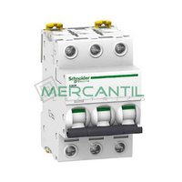 Interruptor Magnetotermico 3P 32A iC60H Sector Industrial SCHNEIDER ELECTRIC