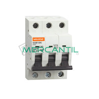 Interruptor Magnetotermico 3P 50A SGB10Ki Industrial RETELEC