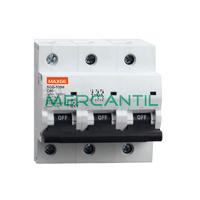Interruptor Magnetotermico 3P 80A SGB125H Industrial RETELEC