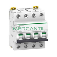 Interruptor Magnetotermico 4P 25A iC60N Sector Terciario SCHNEIDER ELECTRIC