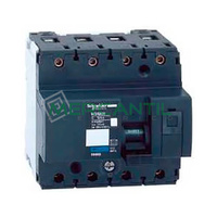 Interruptor Magnetotermico 4P 50A NG125N Sector Industrial SCHNEIDER ELECTRIC