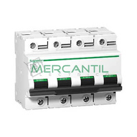 Interruptor Magnetotermico 4P 80A C120N Sector Industrial SCHNEIDER ELECTRIC