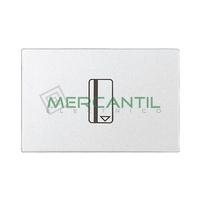 Interruptor Mecanico de Tarjeta con Lampara LED Incorporada 16AX 2 Modulos Zenit NIESSEN - Color Blanco