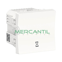 Interruptor Temporizado 10A 2 Modulos New Unica SCHNEIDER ELECTRIC