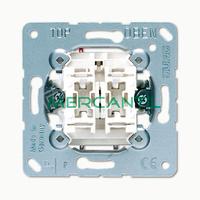 Interruptor Unipolar Doble con Iluminacion Orientacion LS990 JUNG