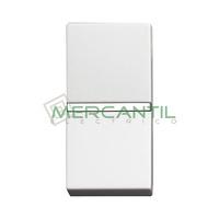 Interruptor Unipolar Iluminable 1 Modulo Zenit NIESSEN - Color Blanco