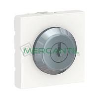 Interruptor de Llave con 3 Posiciones 16A 2 Modulos New Unica SCHNEIDER ELECTRIC
