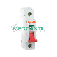 Interruptor de Maniobra con 2 Posiciones 1P 32A SGI Industrial-Terciario RETELEC