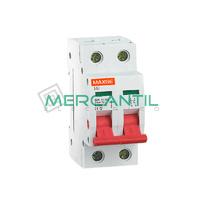 Interruptor de Maniobra con 2 Posiciones 2P 25A SGI Industrial-Terciario RETELEC