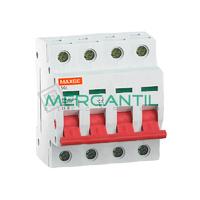Interruptor de Maniobra con 2 Posiciones 4P 25A SGI Industrial-Terciario RETELEC