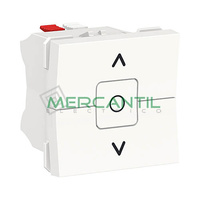 Interruptor de Persianas 6A 2 Modulos New Unica SCHNEIDER ELECTRIC