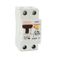 Interruptor magnetotermico y diferencial combinado 1P+N 6A curva C clase AC industrial/terciario EPRM Alpha+ Retelec