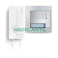 Kit Audio V1 2 Hilos para 1 Vivienda SERIE 8 y SFERA NEW TEGUI - 1 Telefono y 1 Placa