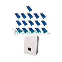 Kit Autoconsumo Instantaneo FV 5kW 16 Paneles Red Monofasica 230V Coplanar RETELEC
