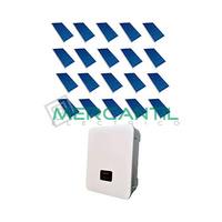 Kit Autoconsumo Instantaneo FV 6kW 20 Paneles Red Monofasica 230V Coplanar RETELEC