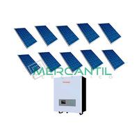 Kit Autoconsumo para Acumulacion FV 3kW 10 Paneles Red Monofasica 230V Coplanar RETELEC