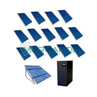 Kit Autoconsumo para Acumulacion FV 4kW 14 Paneles Red Monofasica 230V Telescopica RETELEC