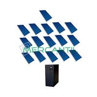 Kit Autoconsumo para Acumulacion FV 5kW 16 Paneles Red Monofasica 230V Coplanar RETELEC