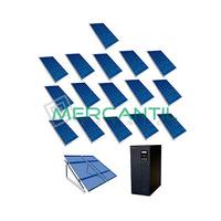 Kit Autoconsumo para Acumulacion FV 5kW 16 Paneles Red Monofasica 230V Telescopica RETELEC