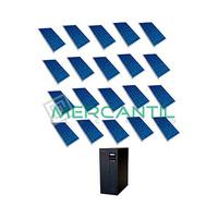 Kit Autoconsumo para Acumulacion FV 6kW 20 Paneles Red Monofasica 230V Coplanar RETELEC