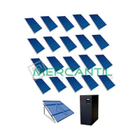 Kit Autoconsumo para Acumulacion FV 6kW 20 Paneles Red Monofasica 230V Telescopica RETELEC