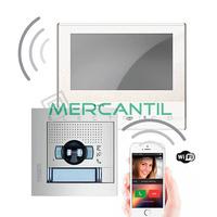 Kit Videoportero V1 Tactil Manos Libres WI-FI para 1 Vivienda SFERA NEW CLASSE 300X13E TEGUI