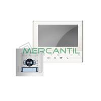 Kit Videoportero V1 Tactil Manos Libres para 1 Vivienda SFERA NEW CLASSE 300V13E TEGUI - 1 Monitor y 1 Placa