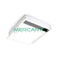 Kit de Superficie para Panel LED 60x60 Aluminio LEDME - Montaje Facil