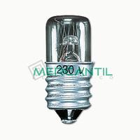 Lampara Incandescente E-14 3W para Mecanismo de Señalizacion LS990 JUNG