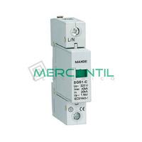 Limitador de Sobretensiones Transitorias 1P 20A 420Vca RETELEC