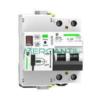 Magnetotermico Rearmable Programable 2P 40A RETELEC