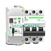 Magnetotermico Rearmable Programable 3P 40A RETELEC