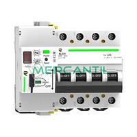 Magnetotermico Rearmable Programable 4P 63A RETELEC