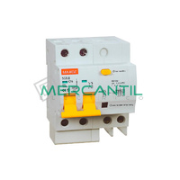 Magnetotermico y Diferencial 2P 63A SGBLE Industrial-Terciario RETELEC